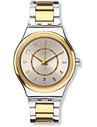 Mens Irony YIS410G Gold Stainless-Steel Automatic Fashion Watch