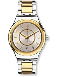 Swatch Men's Irony YIS410G Gold Stainless-Steel Automatic Fashion Watch
