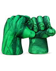 Handschoenen, 1 Paar Kinderen Kinder Vuisten Bokshandschoenen Grote Zachte Pluche Handschoenen Kinderhandschoenen Cosplay Kostuum Games Kinderspeelgoed Verjaardag Kerstmis, Groen