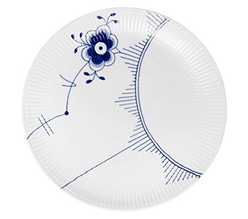 Fluted Mega Dinner Plate (Blue Fluted Mega 10.75