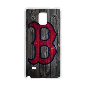 Custom Unique Design Boston Red Sox Samsung Galaxy Note 4 Silicone Case