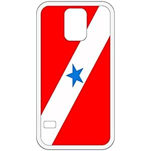 Para Flag White Samsung Galaxy S5 Cell Phone Case - Cover