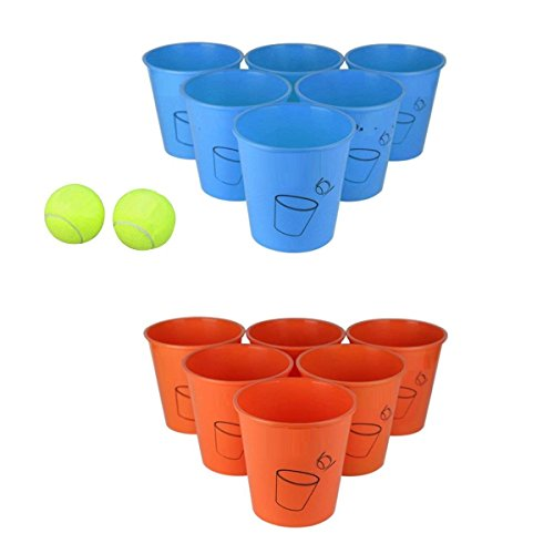 M.E.R.A. Beach Edition, Family Friendly Beach Game, Giant Beer Pong Game Ultimate Beach, Yard, Lawn, Backyard, Poolside, Camping, Tailgate, Outdoor Game - Perfect Outdoor Indoor Gift for Boys, Girls, by M.E.R.A.