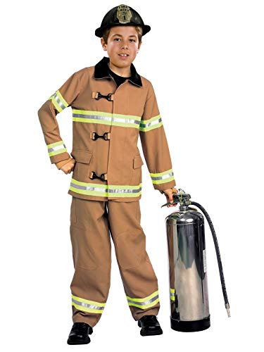 Young Heroes Child's Fire Fighter Costume, Small]()