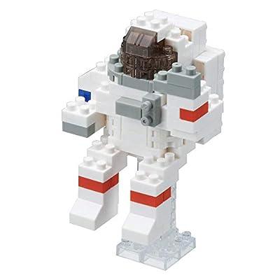 Nanoblock Astronaut Building Kit: Toys & Games