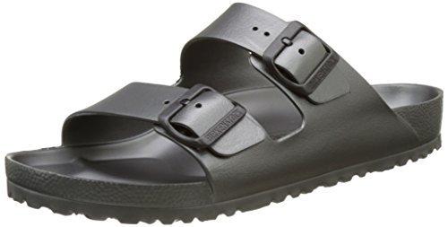 Birkenstock Essentials Unisex Arizona EVA Sandals Metallic Anthracite 39 N EU (US Women's 8-8.5)