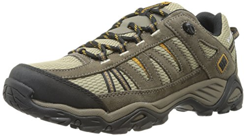 Columbia Men's North Plains Waterproof-M, Verdant/Caramel, 9.5 D US