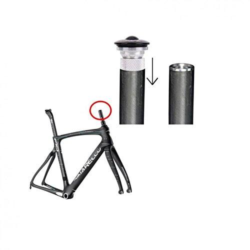 MagiDeal 1 Pieza de Bifurcaci/ón de Aleaci/ón de Aluminio de Bicicleta Tuerca de Estrella Enchufe Ampliador