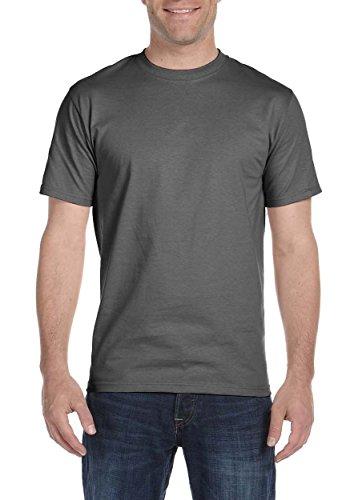 shirt Smoke Homme Beefy t T Grey Usa Hanes UqYvwIv