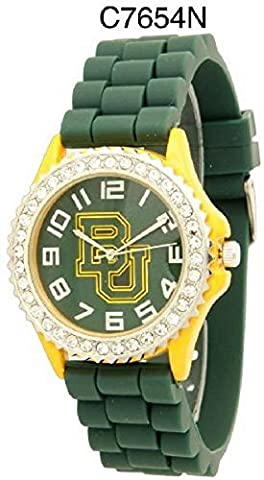 NCAA Officially Licensed Baylor Bears Mens Gametime Round-faced Watch (Baylor Watches)