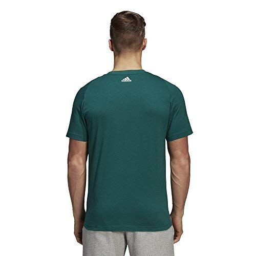 noble F18 shirt Adidas F18 T Noble Green T white Ess Tee Linear Vert white Homme UURqp8Own