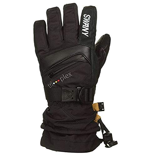 Swany X-Change Junior Gloves, Black, Medium by Swany (Image #4)