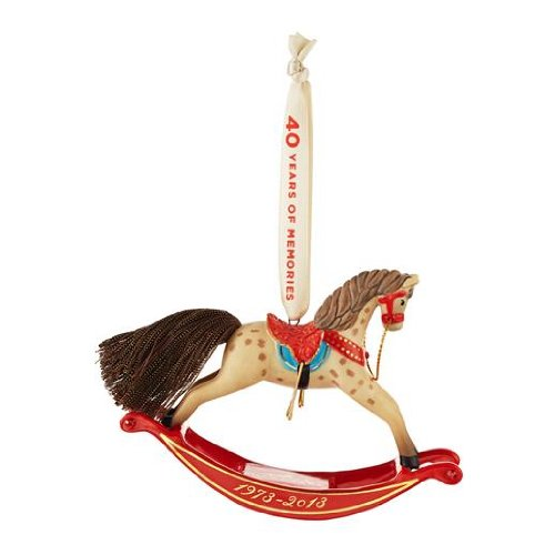 Forty Years Of Memories - A Pony for Christmas 2013 Hallmark Ornament