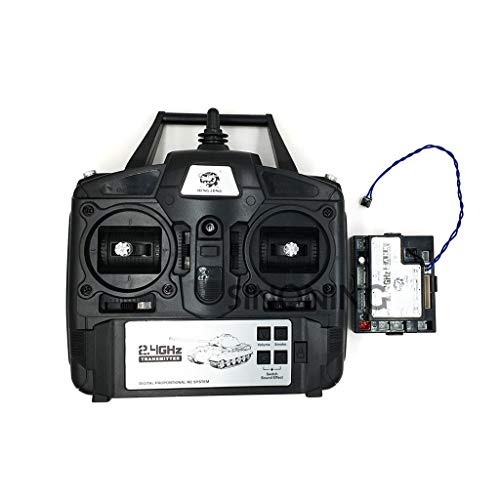 2.4GHz 5.3 Version 1/16 Controller Transmitter Remote Control Set for Heng Long RC Tank by Aiyouxi