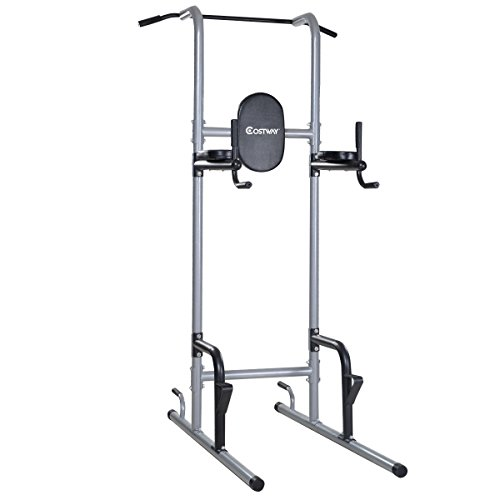 UBRTools Costway Chin Up Tower Rack Pull Up Stand Bar Leg Raise Home Gym Workout Weight by UBRTools
