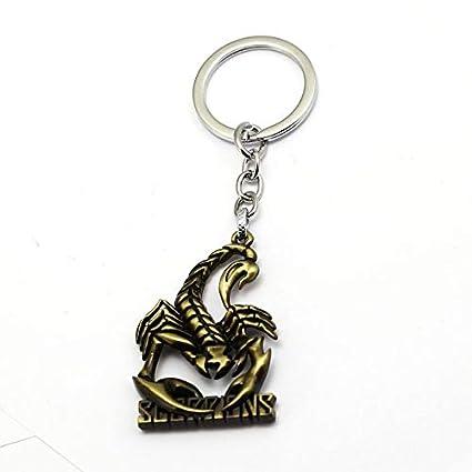 Amazon.com: Value-Smart-Toys - New Scorpions Rock Keychain ...