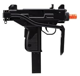 Umarex Uzi Mini 2278400 24 Rounds Air Soft Pistol (Black, 6mm)