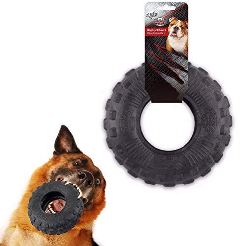Yu-Xiang Tyre Dog Molar Toy Pet Chew Toy Pet Molar Rod Tire Training Supplies Nontoxic Rubber (S)
