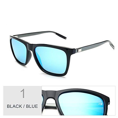 La Visión Con De Negro Cuadrados De Guía Sol Uv400 Verdeoscuro Blue De Black Gafas Aluminio Nocturna Protección Patas Gafas Polarizadas Hombres Gafas TIANLIANG04 De Envuelva De De Sol BaS8WExPq
