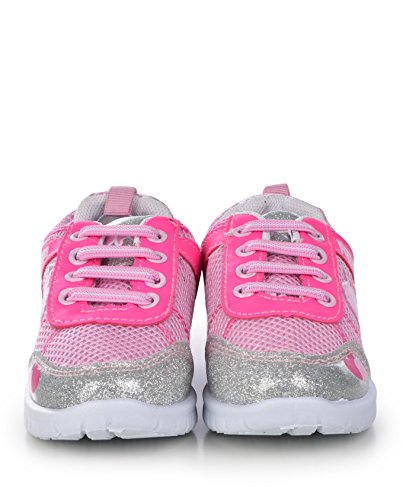 Pictures of Peppa Pig Kids Toddler Girls Silver and Pink 10 M US 4