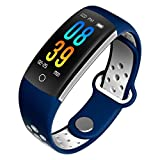 Kivors Smart Bracelet, Q6 Color Screen Fitness Tracker with Dynamic Heart Rate Blood