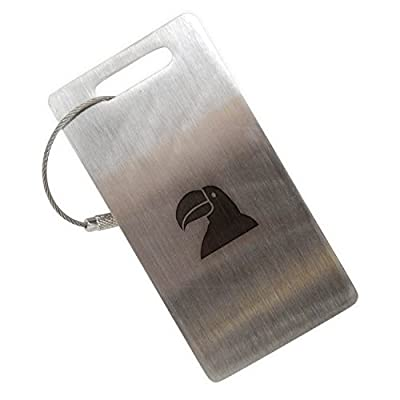 good Toucan Stainless Steel Luggage Tag, Luggage Tag