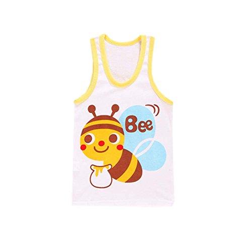 George Jimmy Cartoon Baby Vest Sleeveless Underwear Kids Clo