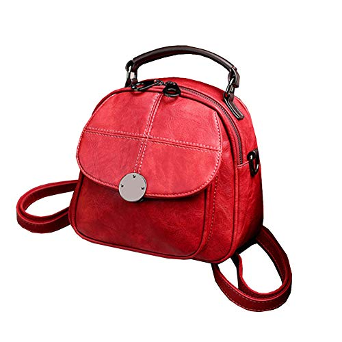 Fashion Donna Da Elegante Con Zaino Tasca Clutch Bags Tracolla Red Tote Womens Pochette Wild Multifunzionale Leisure H8w5Bpqx