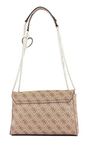 Sac Cvrtbl À Downtown w L 5x7 5 Flp Guess Bandoulière Cool Femme 5x17 X H 28 Centimeters brown Xbody Multicolore CXxBqdYw