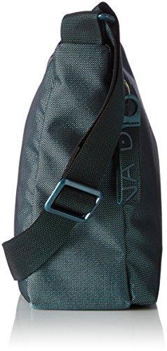 Tracolla Duck hombro de bolsos Mandarina Blue Shoppers Petrol Azul Mujer Md20 y Rq44fO7