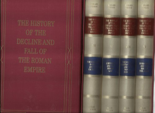 The History of the Decline and Fall of the Roman Empire. Folio Society 8 volumes. 2006