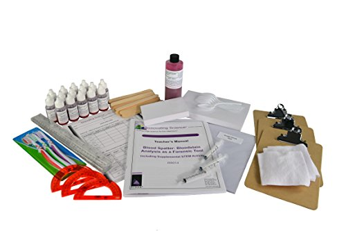 Blood Spatter: Bloodstain Analysis as a Forensic Tool Including Supplemental STEM Activity (Series Chemistry Activity)