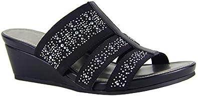 Impo ESMINE Stretch Wedge Sandal with