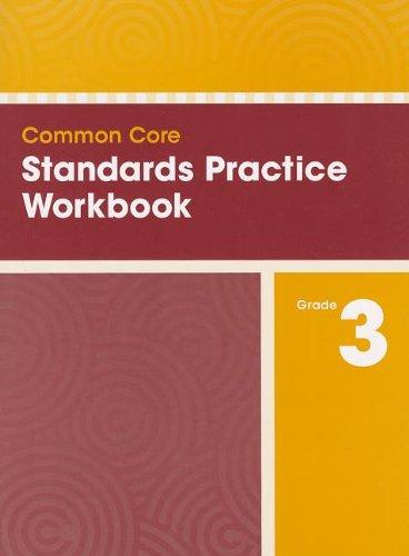 COMMON CORE STANDARDS PRACTICE WORKBOOK GRADE 3