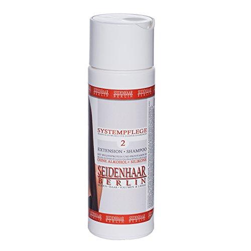 *Seidenhaar- Extension Shampoo * für Extensions & Langhaar *sensitive, ohne Silikone & Alkohol * 200 ml