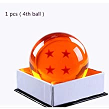 Collectible Medium Crystal Glass Stars Balls Dragon Ball(27,35,43,57,76MM in Diameter) (D-7.6-4)