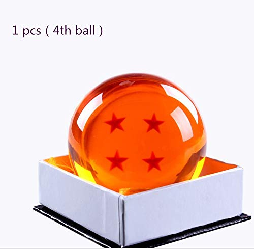 - Country Toys Collectible Medium Crystal Glass Stars Balls Dragon Ball(27,35,43,57,76MM in Diameter) (D-7.6-4)