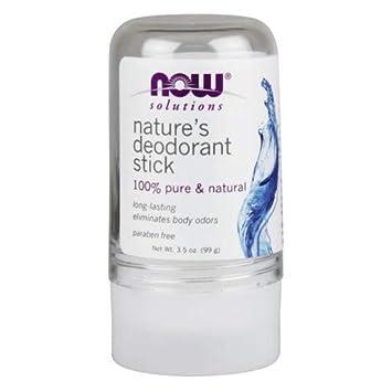 Now Foods Nature s Deodorant Stick – 3.5 oz. 3 Pack