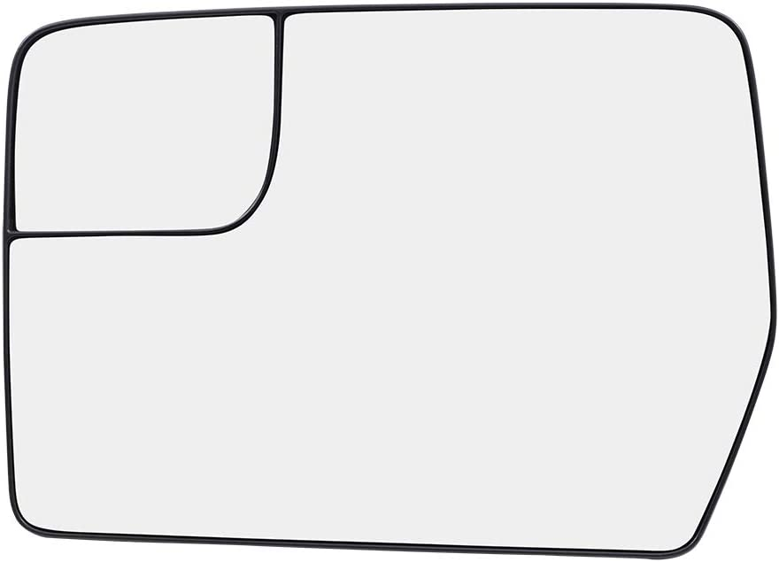 Door Mirror fits 09-14 Ford F-150 Pickup Truck Driver Side Power Spotter Glass