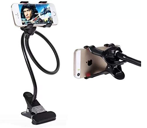 Universal Flexible 360° Snake Style Stand for Apple iPhone/Samsung/Android Long Lazy Car Mobile Holder