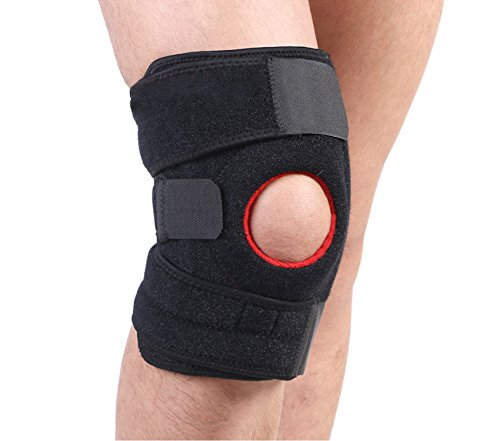 VOUMEY Medical Grade Knee Brace for Support and Professional Sports Knee Hiking Running Outdoor Fitness Riding Basketball Badminton Knees for Men and Women. FDA Approved by VOUMEY