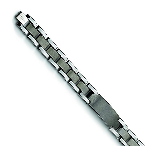 tungsten-brushed-and-polished-85in-youtube-bracelet