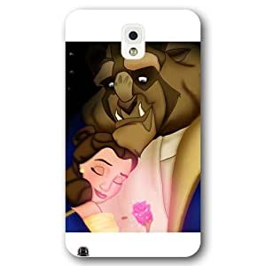 Customized White Frosted Disney Cartoon Movie Beauty and The Beast Iphone 5/5S