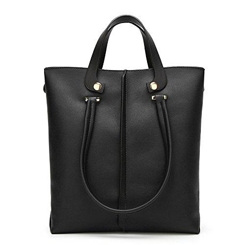 KYOKIM Bag Messenger Femme à En à Black Vent Bandoulière Sac Cuir Rétro Main Sac rct8q0wPr