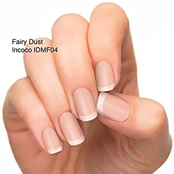 Fairy Dust Incoco Nail Polish Applique Press On Wrap Strips In