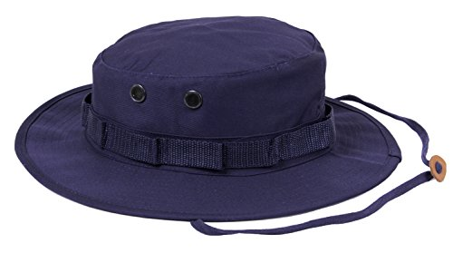 Navy Blue Jungle - Rothco Boonie Hat, Navy Blue - (7 1/4) Inch