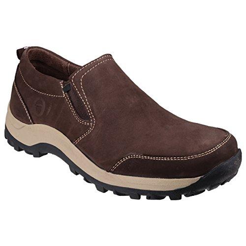 Cotswold Zapatos con Fuelle Modelo Sheepscombe Hombre Caballero Marrón