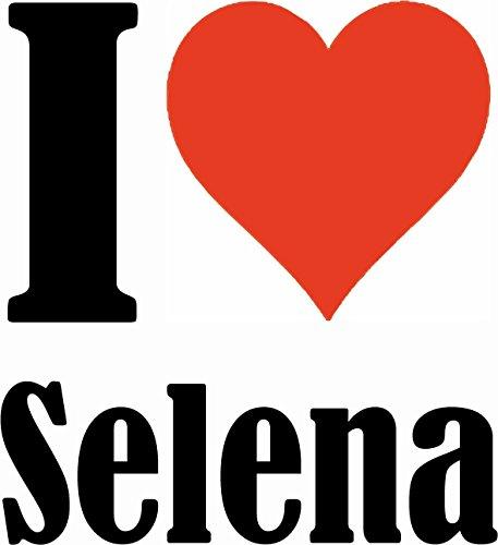 """Handyhülle iPhone 4 / 4S """"I Love Selena"""" Hardcase Schutzhülle Handycover Smart Cover für Apple iPhone … in Weiß … Schlank und schön, das ist unser HardCase. Das Case wird mit einem Klick auf deinem Sm"""