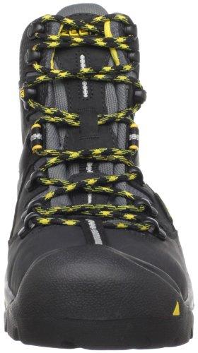 Keen Utility Mens Pittsburgh Steel Toe Work Boot,Black,8.5 EE US