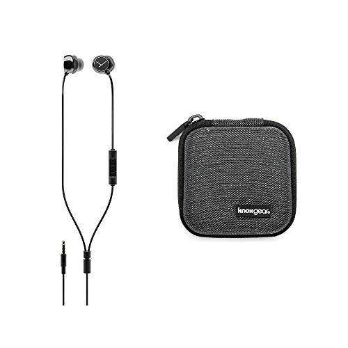 Beyerdynamic Soul Byrd Wired Premium in-Ear Headphones (Black) Bundle (Includes Extra Hardshell Earbud case) (Beyerdynamic Headphones Bluetooth)